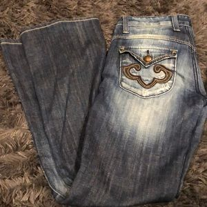 Rerock for Express size 4 boot cut jeans